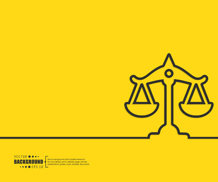 justice legal: Abstract Creative concept vector background for Web and Mobile Applications, Illustration template design, business infographic, page, brochure, banner, presentation, poster, cover, booklet, document.