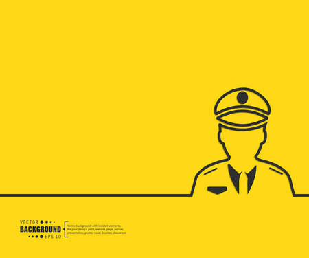 traffic police: Abstract Creative concept vector background for Web and Mobile Applications, Illustration template design, business infographic, page, brochure, banner, presentation, poster, cover, booklet, document.