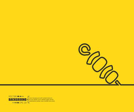 logo de comida: El concepto de fondo vector abstracto creativo para Web y aplicaciones móviles, diseño de la plantilla ilustración, infografía negocio, página, folleto, bandera, presentación, cartel, portada, folleto, documento. Vectores