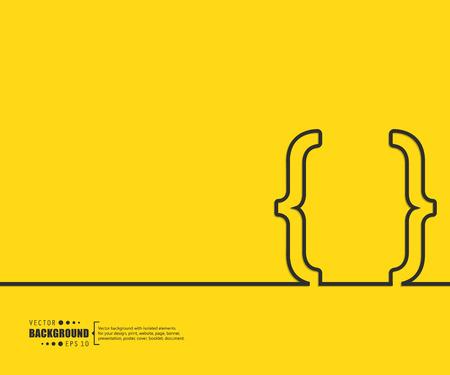 at symbol: Astratto creativo sfondo concetto di vettore per il Web e applicazioni mobili, modello di progettazione Illustrazione, Infografica affari, pagina, brochure, banner, la presentazione, manifesto, copertina, booklet, documenti.