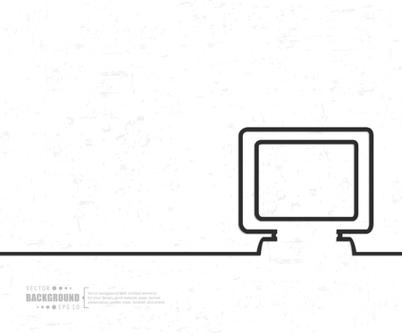 sillouette: Abstract Creative concept background for Web and Mobile Applications Illustration