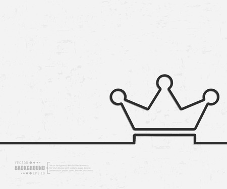 monarchy: Abstract creative concept background for web and mobile applications
