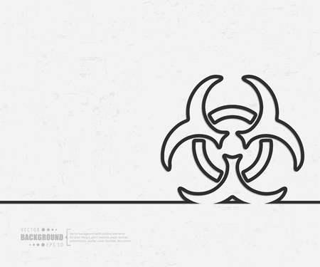 infectious waste: Abstract creative concept background for web and mobile applications