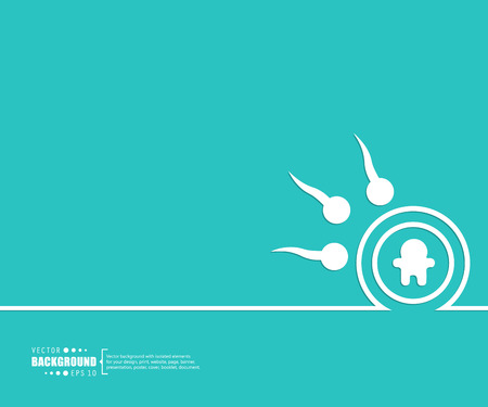 Abstract Creative concept background for Web and Mobile Applications Illustration