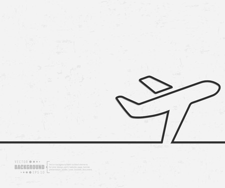 air travel: Abstract creative concept vector background for Web and Mobile Applications, Illustration template design, business infographic, page, brochure, banner, presentation, poster, cover, booklet, document.