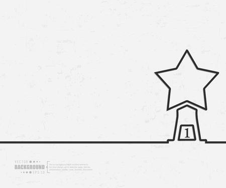Zusammenfassung kreative Konzept Vektor Hintergrund für Web- und Mobile-Anwendungen, Illustration Template-Design, Business-Infografik, Seite, Broschüre, Banner, Präsentation, Poster, Cover, Booklet, Dokument. Standard-Bild - 44576200