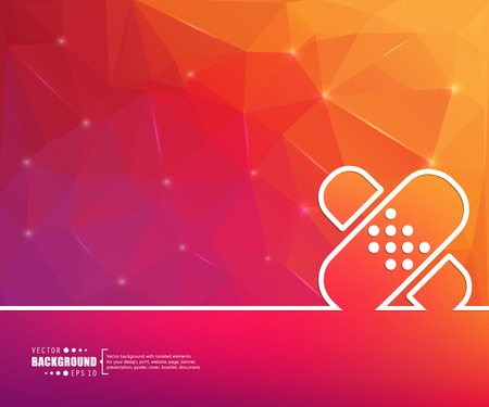cover art: Abstract vector background. For web and mobile app, illustration template design, creative business info graphic, brochure, banner, presentation, concept poster, cover, booklet, document, line logo.