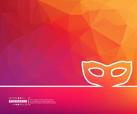purim carnival party: Abstract vector background. For web and mobile app, illustration template design, creative business info graphic, brochure, banner, presentation, concept poster, cover, booklet, document, line logo.