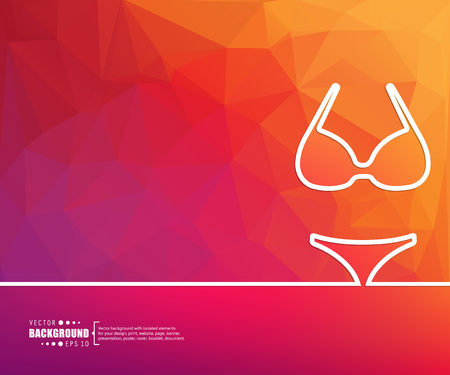 bra model: Abstract Creative concept vector background for Web and Mobile Applications, Illustration template design, business infographic, page, brochure, banner, presentation, poster, cover, booklet, document.