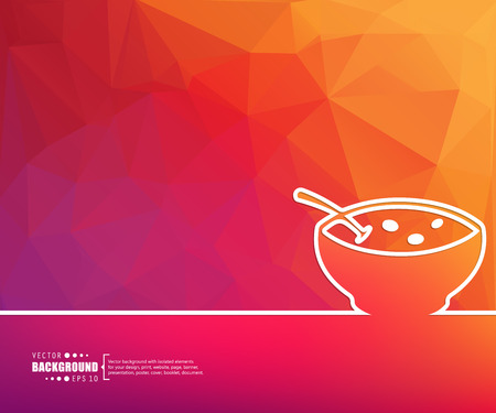 butternut squash: Abstract creative concept vector background for Web and Mobile Applications, Illustration template design, business infographic, page, brochure, banner, presentation, poster, cover, booklet, document.