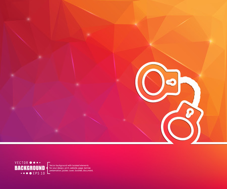 culprit: Abstract creative concept vector background. For web and mobile applications, illustration template design, business infographic, brochure, banner, presentation, poster, cover, booklet, document.