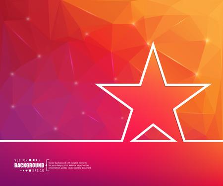 premios: El concepto de fondo vector abstracto creativo para Web y aplicaciones m�viles, dise�o de la plantilla ilustraci�n, infograf�a negocio, p�gina, folleto, bandera, presentaci�n, cartel, portada, folleto, documento. Vectores