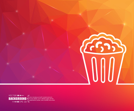 buttered: Abstract Creative concept vector background for Web and Mobile Applications, Illustration template design, business infographic, page, brochure, banner, presentation, poster, cover, booklet, document.