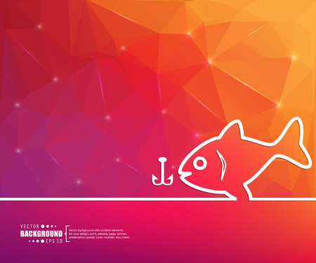 largemouth: Abstract Creative concept vector background for Web and Mobile Applications, Illustration template design, business infographic, page, brochure, banner, presentation, poster, cover, booklet, document.
