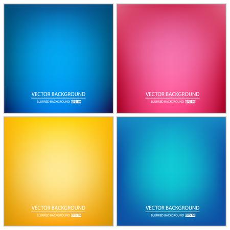 Abstrakt Kreatives Konzept Vektor-bunten Hintergrund unscharf-Set. Für Web und mobile Anwendungen, Abbildung Kunst Template-Design, Business-Infografik und Social Media, moderne Dekoration. Illustration