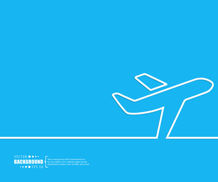 airline: Abstract creative concept vector background for Web and Mobile Applications, Illustration template design, business infographic, page, brochure, banner, presentation, poster, cover, booklet, document.