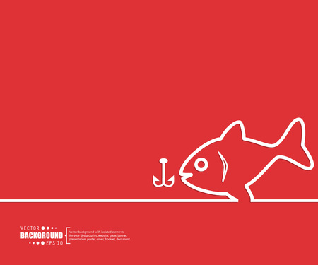 largemouth: Abstract creative concept vector background. For web and mobile applications, illustration template design, business infographic, brochure, banner, presentation, poster, cover, booklet, document.