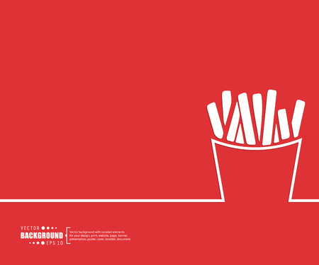 fast food restaurant: Abstract creative concept vector background for Web and Mobile Applications, Illustration template design, business infographic, page, brochure, banner, presentation, poster, cover, booklet, document.