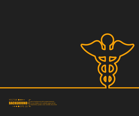 medics: Abstract creative concept vector background. For web and mobile applications, illustration template design, business infographic, brochure, banner, presentation, poster, cover, booklet, document.