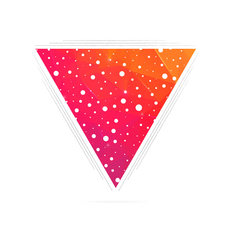 dubstep: Abstract Creative concept vector triangle for Web and Mobile Applications, Illustration template design, business infographic, page, brochure, banner, presentation, poster, cover, booklet, document.