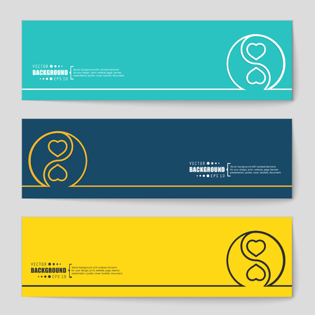 sillouette: Abstract creative concept vector background. For web and mobile applications, illustration template design, business infographic, brochure, banner, presentation, poster, cover, booklet, document.