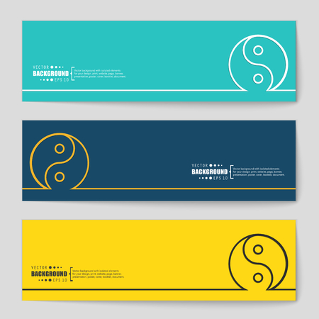 tao: Abstract creative concept vector background. For web and mobile applications, illustration template design, business infographic, brochure, banner, presentation, poster, cover, booklet, document.