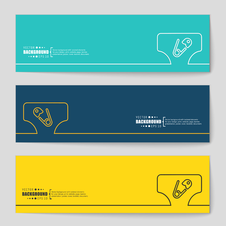 incontinence: Abstract vector background. For web and mobile applications, illustration template design, business infographic, brochure, creative banner, presentation, poster, cover, booklet, document.