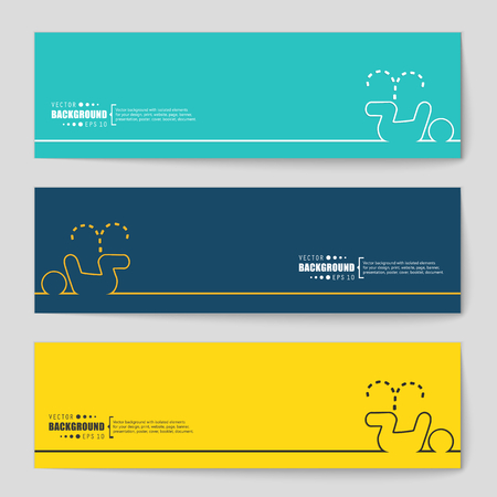 chamber pot: Abstract vector background. For web and mobile applications, illustration template design, business infographic, brochure, creative banner, presentation, poster, cover, booklet, document.