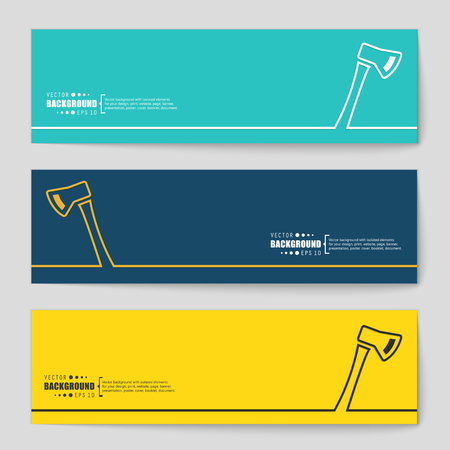 pick ax: Abstract Creative concept vector background for Web and Mobile Applications, Illustration template design, business infographic, page, brochure, banner, presentation, poster, cover, booklet, document.