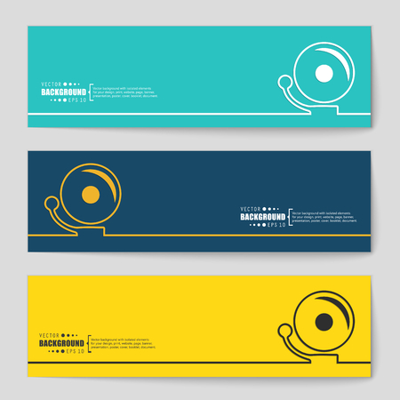 decibels: Abstract creative concept vector background for Web and Mobile Applications, Illustration template design, business infographic, page, brochure, banner, presentation, poster, cover, booklet, document.