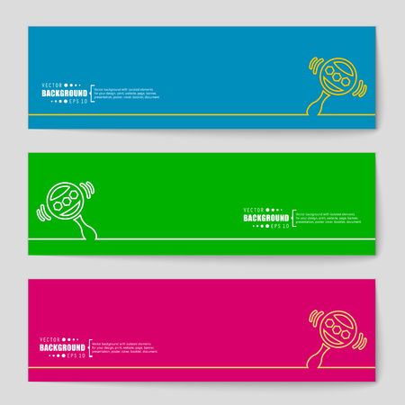 rattles: Abstract vector background. For web and mobile applications, illustration template design, business infographic, brochure, creative banner, presentation, poster, cover, booklet, document.