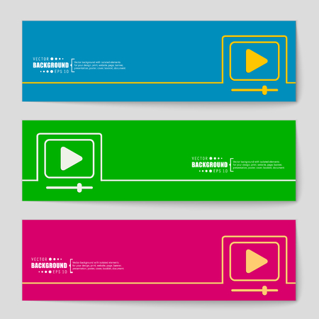 windows media video: Abstract creative concept vector background for Web and Mobile Applications, Illustration template design, business infographic, page, brochure, banner, presentation, poster, cover, booklet, document.