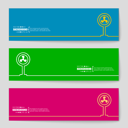 spinning windmill: Abstract creative concept vector background. For web and mobile applications, illustration template design, business infographic, brochure, banner, presentation, poster, cover, booklet, document.
