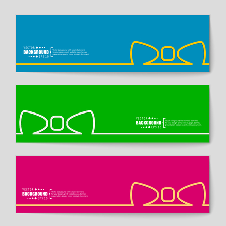 chequered ribbon: Abstract Creative concept vector background for Web and Mobile Applications, Illustration template design, business infographic, page, brochure, banner, presentation, poster, cover, booklet, document.