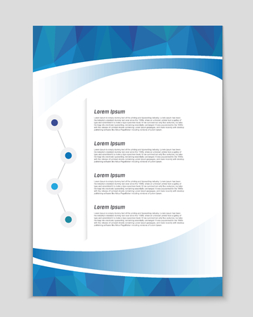 Abstract vector background for web and mobile applications, art template design, list, page, mockup brochure theme style, banner, idea, booklet, document, flyer, book, blank, card