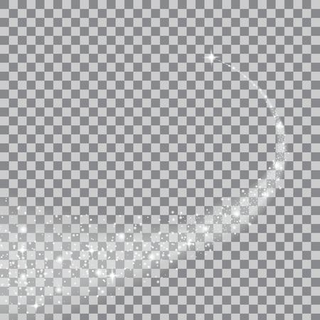 magie: Creative ensemble d'effets étoiles de lumière luminescente concept Vector éclate avec des étincelles isolé sur fond. Pour la conception de l'art illustration modèle, bannière pour célébrer Noël, la magie rayon d'énergie de flash. Illustration