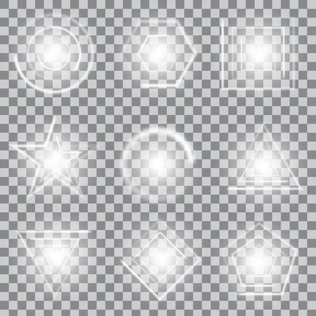 starlet: Creative concept Vector set of glow light effect stars bursts with sparkles isolated on background. For illustration template art design, banner for Christmas celebrate, magic flash energy ray.