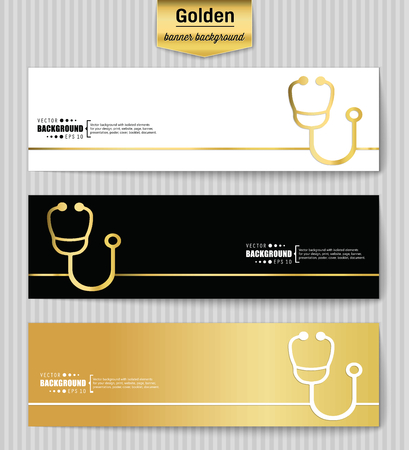 Abstract creative concept gold vector background for web app, illustration template design, business infographic, page, brochure, banner, presentation, brochure, booklet, layout Çizim
