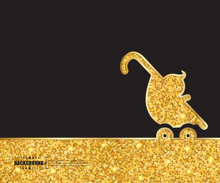 stroll: Creative vector stroller. Art illustration template background. For presentation, layout, brochure, logo, page, print, banner, poster, cover, booklet, business infographic, wallpaper, sign, flyer. Illustration