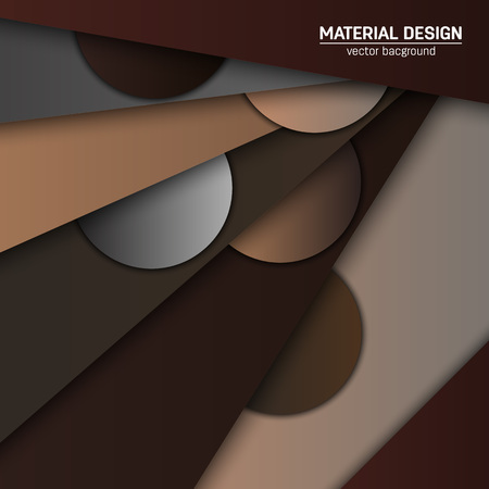 soft colors: Vector material design background. Abstract creative concept layout template. For web and mobile app, paper art illustration design. style blank, poster, booklet. Motion wallpaper element. Flat ui.