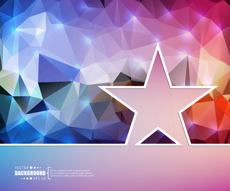 low prizes: Creative vector star.