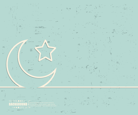 crescent: Creative vector Crescent Islamic.