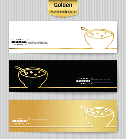 butternut squash: Abstract Creative concept gold vector background for Web and Mobile Applications, Illustration template design, business infographic, page, brochure, banner, presentation, poster, booklet, document. Illustration