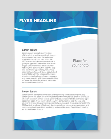 Abstract vector layout background for web and mobile applications, art template design, list, page, mockup brochure theme style, banner, idea, cover, booklet, document, print, flyer, book, blank, card
