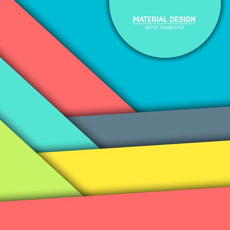 Vecteur matériel de conception de fond. Résumé créatif concept de modèles de mise en page. Pour le web et l'application mobile, la conception du papier art illustration. blanc de style, affiche, livret. Mouvement élément de fond d'écran. ui plat. Banque d'images - 57712609
