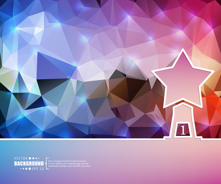 grail: Abstract Creative concept vector background for Web and Mobile Applications, Illustration template design, business infographic, page, brochure, banner, presentation, booklet, document.