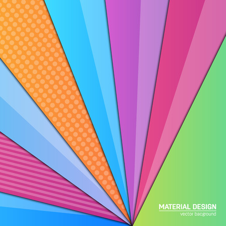Vector material design background. Abstract creative concept layout template. For web and mobile app, paper art illustration design. style blank, poster, booklet. Motion wallpaper element. Flat ui