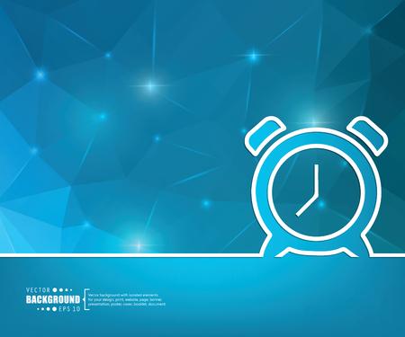 cronometro: Fondo creativo abstracto concepto de vector para aplicaciones web y móviles, diseño de plantilla de ilustración, infografía negocio, página, folleto, bandera, presentación, folleto, documento. Vectores