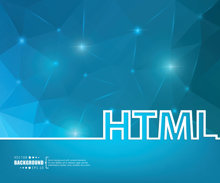 html 5: Abstract Creative concept vector background for Web and Mobile Applications, Illustration template design, business infographic, page, brochure, banner, presentation, booklet, document.