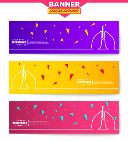 induced: Abstract creative concept vector background for web, mobile app, Illustration template design, business infographic, page, brochure, orange banner, presentation, poster, purple cover, pink booklet. Illustration